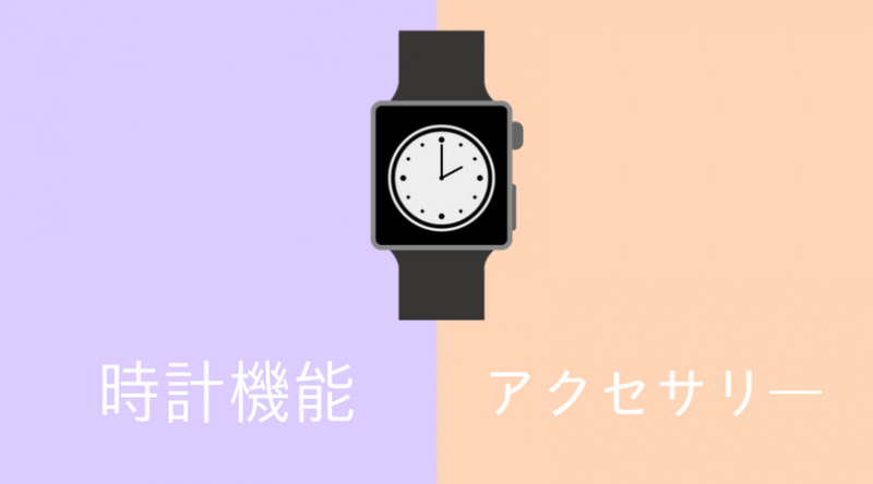 時計の機能と装飾性